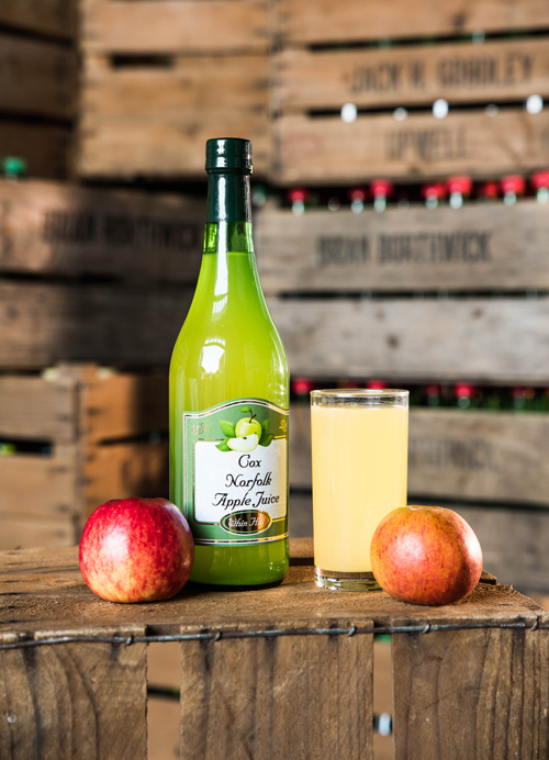 Cox Apple Juice | Whin Hill Norfolk Cider, Wells-next-the-Sea | Purchase Traditional Norfolk Cider, Perry & Apple Juice Online