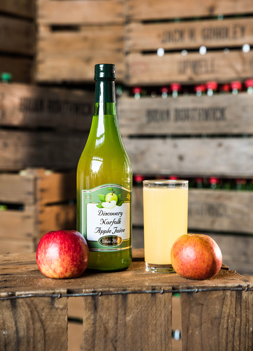 Discovery Apple Juice | Whin Hill Norfolk Cider, Wells-next-the-Sea | Purchase Traditional Norfolk Cider, Perry & Apple Juice Online