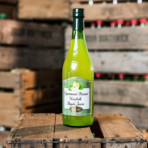 Egremont Russet Apple Juice | Whin Hill Norfolk Cider, Wells-next-the-Sea | Purchase Traditional Norfolk Cider, Perry & Apple Juice Online